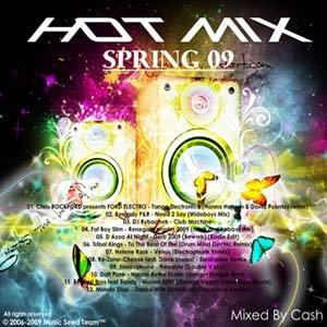 Hot-Mix Spring 09 Mixed By Cash (2009)