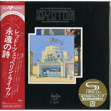 Led Zeppelin - The Song Remains The Same 2CD